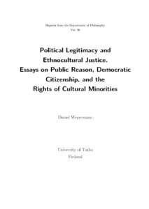 political legitimacy and ethnocultural justice essays on public  pikkukuva