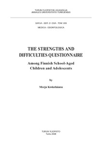 THE STRENGTHS AND DIFFICULTIES QUESTIONNAIRE