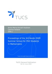 Proceedings of the 3rd Nordic EWM Summer School for PhD Students