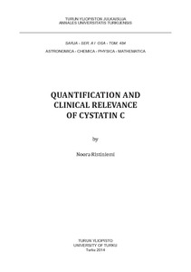 quantification and clinical relevance of cystatin c
